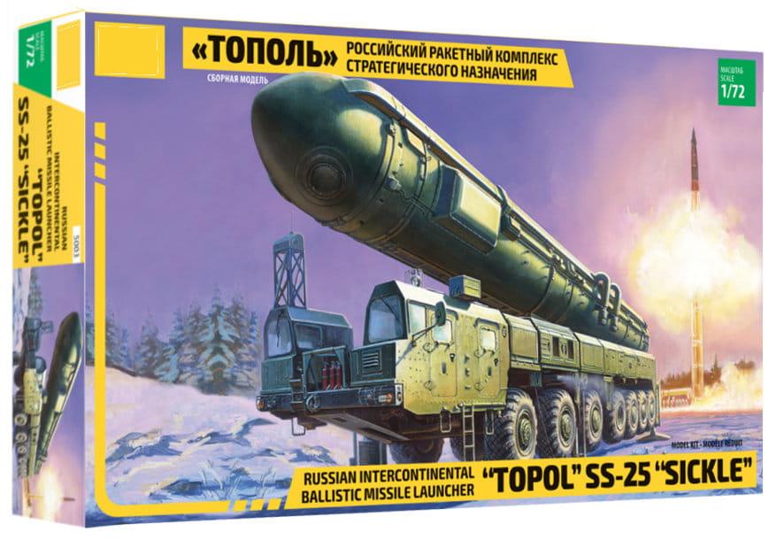 1:72 X 5003 Topol SS-25 Sickle