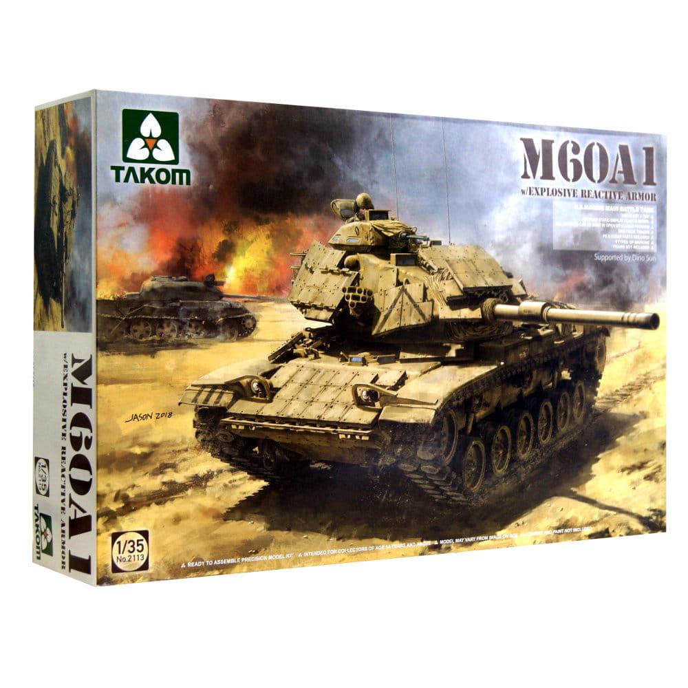 1:35 M60 A1 w/Explosive Reactive Armour - Takom 2113
