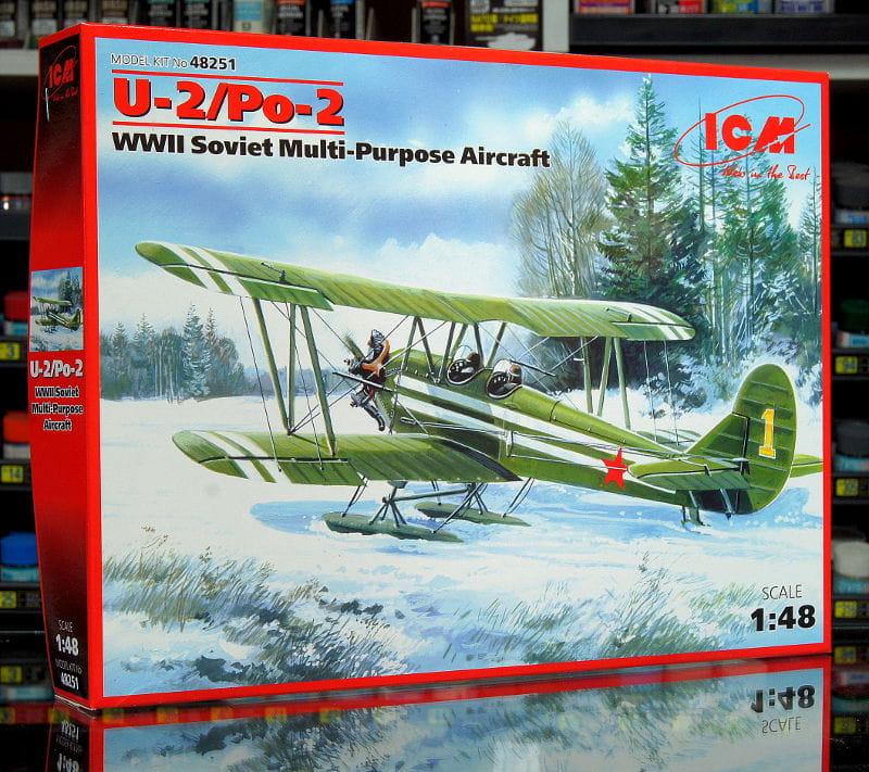 1:48 POLIKARPOW U-2 / Po-2 - Radziecki samolot wielozadaniowy - ICM 48251